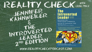 Craig Price - Reality Check Episode 249 logo with book