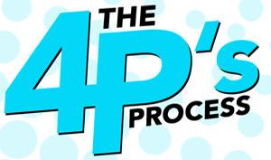 4 P's Process Icon