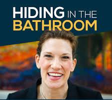 Hiding in the Bathroom logo