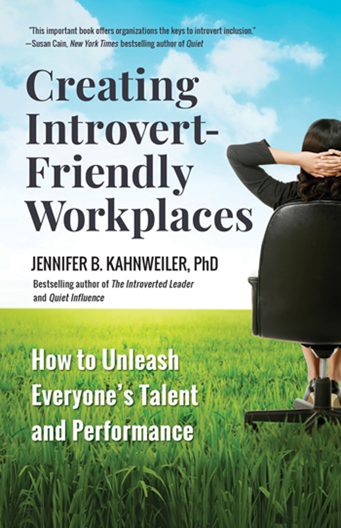 Introvert-Friendly Workplaces